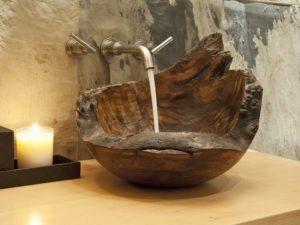 Раковина из дерева
