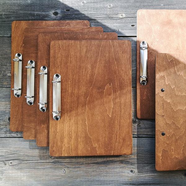 Деревянный планшет для меню купить Минск