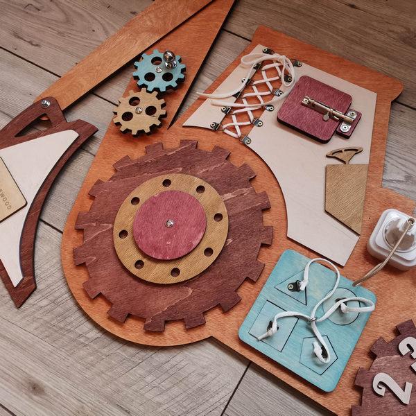 Детский бизиборд для мальчика купить Минск
