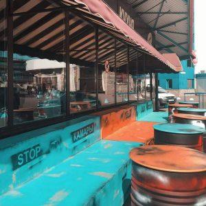 Терраса для кафе Кофейная Кухня в Минске